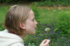 κορίτσι κήπων Στοκ εικόνες με δικαίωμα ελεύθερης χρήσης