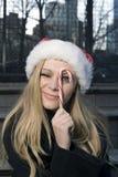 κορίτσι καλάμων καραμελώ&n Στοκ φωτογραφία με δικαίωμα ελεύθερης χρήσης