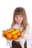 κορίτσι καρπού λίγα άσπρα Στοκ Φωτογραφίες