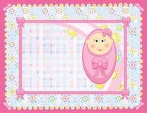 κορίτσι καρτών απεικόνιση αποθεμάτων