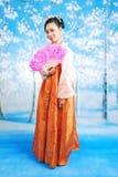 κορίτσι Κορεάτης στοκ εικόνα με δικαίωμα ελεύθερης χρήσης