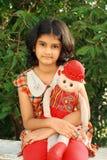 κορίτσι κουκλών αυτή συμ Στοκ φωτογραφίες με δικαίωμα ελεύθερης χρήσης