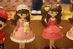 Κορίτσι κουκλών για την εγχώρια διακόσμηση Στοκ Εικόνες