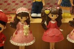 Κορίτσι κουκλών για την εγχώρια διακόσμηση Στοκ φωτογραφία με δικαίωμα ελεύθερης χρήσης
