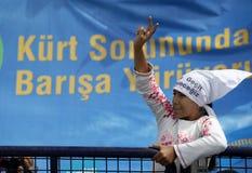 κορίτσι κουρδικά Στοκ εικόνες με δικαίωμα ελεύθερης χρήσης