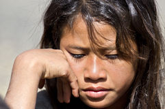 κορίτσι Λάος Στοκ φωτογραφία με δικαίωμα ελεύθερης χρήσης