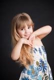 κορίτσι λίγα Στοκ Φωτογραφίες