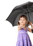 κορίτσι λίγη ομπρέλα Στοκ εικόνες με δικαίωμα ελεύθερης χρήσης