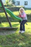 κορίτσι λίγη ταλάντευση Στοκ φωτογραφίες με δικαίωμα ελεύθερης χρήσης