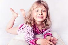 κορίτσι λίγη φθορά νυχτικώ&n Στοκ Εικόνα