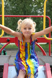 κορίτσι λίγη φωτογραφική &d Στοκ φωτογραφίες με δικαίωμα ελεύθερης χρήσης
