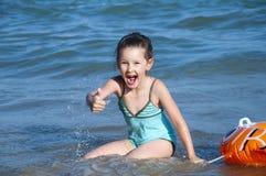 κορίτσι λίγο καλοκαίρι στοκ εικόνες με δικαίωμα ελεύθερης χρήσης