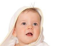 κορίτσι λίγο λευκό πετσ&ep Στοκ Εικόνα