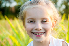 κορίτσι λίγο πορτρέτο Στοκ φωτογραφία με δικαίωμα ελεύθερης χρήσης