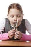 κορίτσι λίγο σούσι Στοκ εικόνες με δικαίωμα ελεύθερης χρήσης