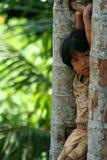 κορίτσι λίγο lombok στοκ εικόνα