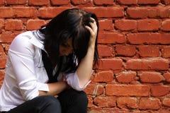 κορίτσι λυπημένο Στοκ φωτογραφίες με δικαίωμα ελεύθερης χρήσης