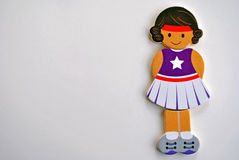 Κορίτσι μαζορετών Στοκ Εικόνα