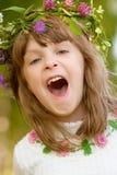 κορίτσι μαργαριτών μωρών λί&gamma Στοκ φωτογραφία με δικαίωμα ελεύθερης χρήσης
