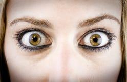 κορίτσι ματιών Στοκ εικόνες με δικαίωμα ελεύθερης χρήσης