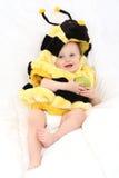 κορίτσι μελισσών μωρών Στοκ φωτογραφία με δικαίωμα ελεύθερης χρήσης