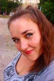 Κορίτσι με ένα χαμόγελο Στοκ εικόνα με δικαίωμα ελεύθερης χρήσης