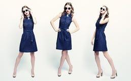 Κορίτσι με τα γυαλιά ηλίου Στοκ εικόνες με δικαίωμα ελεύθερης χρήσης