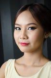 Κορίτσι με το καλλυντικό Στοκ φωτογραφία με δικαίωμα ελεύθερης χρήσης