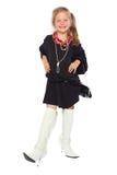 Κορίτσι μοντέρνο Στοκ Φωτογραφία