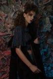 κορίτσι μοντέρνο Στοκ Εικόνα