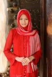 κορίτσι μουσουλμάνος στοκ εικόνες