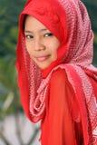 κορίτσι μουσουλμάνος στοκ εικόνα