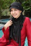 κορίτσι μουσουλμάνος στοκ εικόνα με δικαίωμα ελεύθερης χρήσης