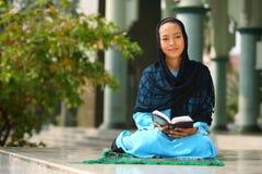 κορίτσι μουσουλμάνος στοκ εικόνες με δικαίωμα ελεύθερης χρήσης