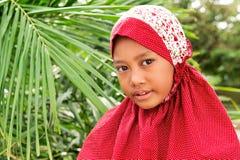 κορίτσι μουσουλμάνος &upsilo Στοκ εικόνα με δικαίωμα ελεύθερης χρήσης