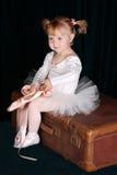 κορίτσι μπαλέτου Στοκ Φωτογραφίες