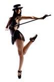 κορίτσι μπαλέτου Στοκ Εικόνες