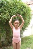 κορίτσι μπαλέτου Στοκ Φωτογραφία