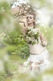 Κορίτσι μπαρόκ στοκ εικόνα με δικαίωμα ελεύθερης χρήσης