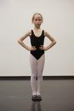 κορίτσι μπαλέτου λίγα Στοκ Εικόνες