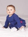 κορίτσι μπουκαλιών μωρών Στοκ Εικόνες