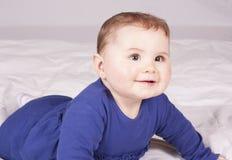 κορίτσι μπουκαλιών μωρών Στοκ φωτογραφία με δικαίωμα ελεύθερης χρήσης