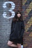 κορίτσι μόδας εφηβικό Στοκ φωτογραφία με δικαίωμα ελεύθερης χρήσης