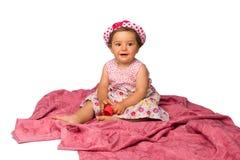 κορίτσι μόδας μωρών Στοκ εικόνα με δικαίωμα ελεύθερης χρήσης