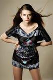 κορίτσι μόδας Στοκ φωτογραφία με δικαίωμα ελεύθερης χρήσης