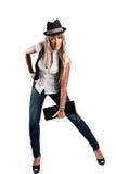 κορίτσι μόδας στοκ εικόνες με δικαίωμα ελεύθερης χρήσης