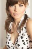 κορίτσι μόδας στοκ εικόνα με δικαίωμα ελεύθερης χρήσης