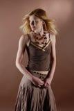 κορίτσι μόδας naturell Στοκ φωτογραφία με δικαίωμα ελεύθερης χρήσης