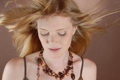 κορίτσι μόδας naturell Στοκ εικόνες με δικαίωμα ελεύθερης χρήσης
