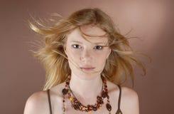 κορίτσι μόδας naturell Στοκ Εικόνες
